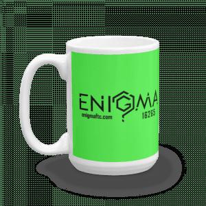 15oz Green - Small Logos