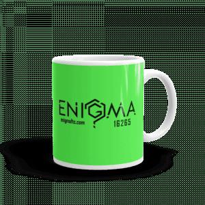 10oz Green - Small Logos