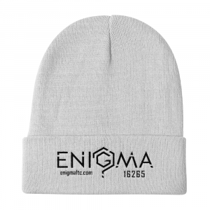 Embroidered Beanie | Skull Cap